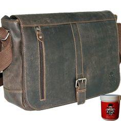 Messenger Bag, Satchel, Laptop, Bags, Fashion, Classic Elegance, Drum, Dark Brown, Leather Bag