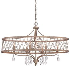 Minka Lavery 4407-581 6 Light Single Tier Chandeliers from the West Liberty Coll Olympus Gold Indoor Lighting Chandeliers
