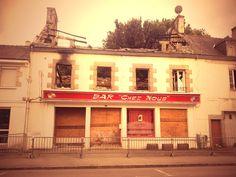 The bar has burned
