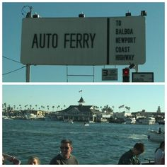 Balboa Island Ferry - memories!!!! So much of my youth