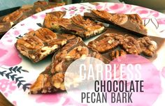 Carbless Chocolate Peanut Butter Pecan Bark ? – Simply Taralynn
