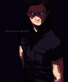 Hawkeye - you have heart