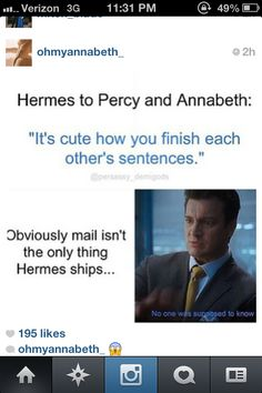 Oh Hermes you knower of things.
