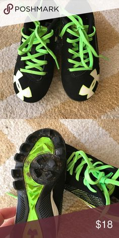 fa35907e Under Armour TBall Cleats Size 10k Used 2x In like new condition Under  Armour Shoes