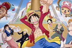 1. One Piece (1997): A história da tripulação pirata em busca de um grande tesouro é a mais vendida em toda a história dos mangás. O recorde foi alcançado pelo volume 67: foram vendidas 4,05 milhões de cópias!  Foto: Divulgação Shueisha