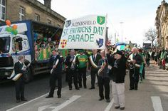 Huddersfield St Patricks Day Parade
