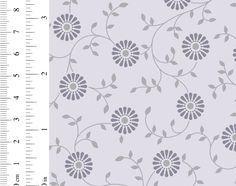 Ginger Lily Studio Lake House: AS0088 cw 03 Daisy, Delicate, Studio, Floral, Fabric, Pattern, Shops, Design, Collection