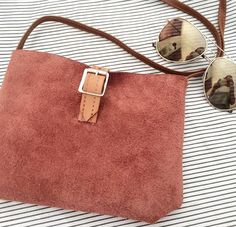 Soicé - handmade bag small in the color salmon, love it! My fave!