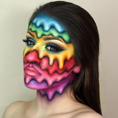 Pride. Makeup Tutorial to Transform your Face, see the video on our site. By Giulianna Maria.
