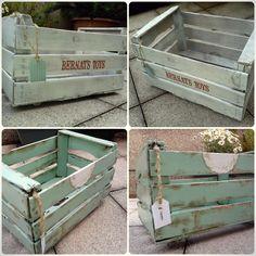 1000 images about cajas de madera decoradas on pinterest - Como decorar cajas de madera estilo vintage ...