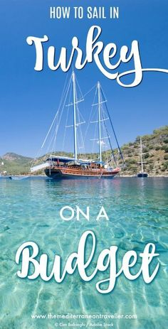Bargain Blue Cruises A Backpackers Guide to Gulet Sailing in Turkey Ever dreamt of sailing the Mediterranean Turkeys Turquoise Coast between Marmaris Fethiye and Olympos. Travel Advice, Travel Guides, Travel Tips, Travel Destinations, Budget Travel, Asia Travel, Turkey Destinations, Travelling Europe, Cruise Travel