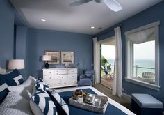 Navy paint color. Navy bedroom #navy #navybedrooom #navypaintcolor