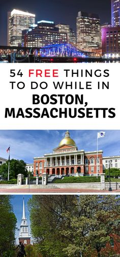 Even in Boston, there are free things to do! Check out these 54 Free things to do in Boston MA and spend less while taking in the sights. #boston #matravel #thingstodo #freethingstodo #budgettravel | Boston Travel Guide | MA Travel | Budget Travel | Frugal Travel | Things to do