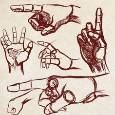 Quick Hands Practice - MOAR! by Dex91.deviantart.com on @deviantART