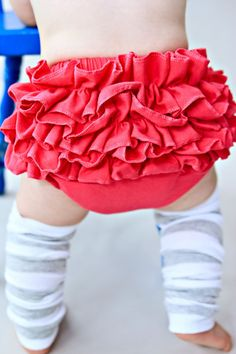 Ruffle  bottom Bloomers in Grey READY TO SHIP by babynightnight, $12.00