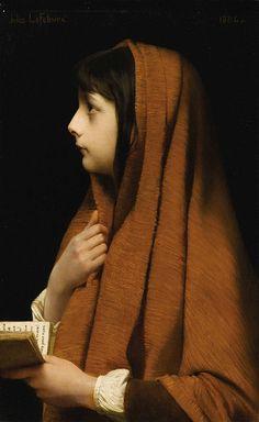 "Jules Joseph Lefebvre (1836 - 1912), ""Mignon"""