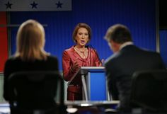 Republican presidential candidate Carly Fiorina wins the Web   Reuters