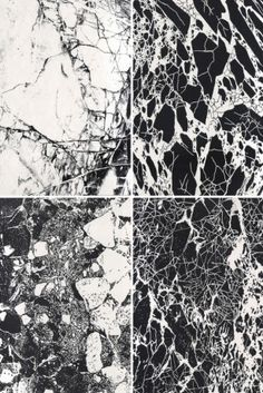 Liefde voor marmer - Roomed | roomed.nl   #marble #art #inspiration #black #white