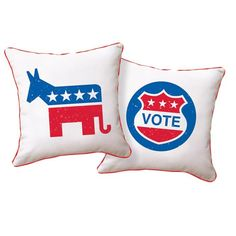 Vote Pillow - Naked Décor on Joss and Main