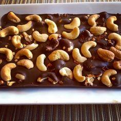 Fun with Paleo: Paleo Cayenne Cashew Chocolate Bar
