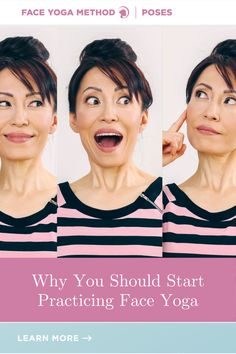 This is why! #faceyoga Face Yoga Method, Face Yoga Exercises, Facial Yoga, Beauty Industry, Yoga Fitness, Yoga Poses
