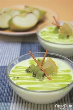 Kiwi Mousse Recipe 奇异果慕斯食谱