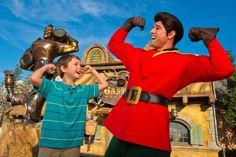 Meet Gaston in the New Fantasyland!  Opening Nov. 19th!