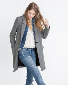 MASCULINE COAT-View all-Outerwear-WOMAN | ZARA United States