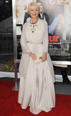 Sobre la alfombra roja 2011: Helen Mirren