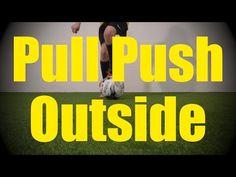 Pull Push Outside - Static Ball Control Drills for U10-U11