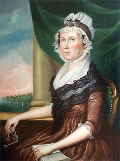 1799 Charles Peale Polk (American artist, 1767-1822) Margaret Baker Briscoe (Mrs. Gerard Briscoe)