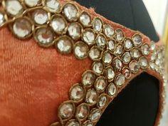 #kundan #embroidery #embroideryshots #zardosiembroidery #yutiforbrides #yutiforbridesmaids #yuti #YUTIDesignerHouse #ethnicdesign #blouseembroidery #blouse #indianwear #weddingseason #weddingsandcelebrations #chennaifashion #customdesign #simpleblouseembroidery