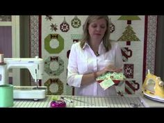 ▶ Deck-ade the Halls with Fat Quarter Shop - Cozy Cocoa Cups Part 1 - YouTube