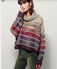 Free People New Romantics Solstice Sweater Lurex Sunset Stripe Mes Demoiselles