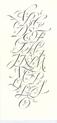 All sizes | Cursive capitals | Flickr - Photo Sharing!