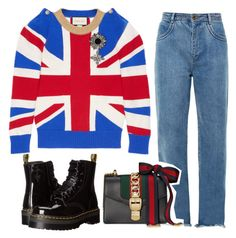 Untitled #196 by jana-obermaier on Polyvore featuring polyvore, мода, style, Gucci, Chloé, Dr. Martens, fashion and clothing