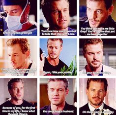 "The last picture :( ""Oh That's Easy, Lexie"" ... Mark Sloan & Lex <3 <3"