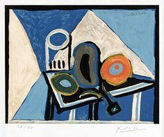 Picasso, Nature morte à l'aubergine (Still Life with Eggplant), c. 1946