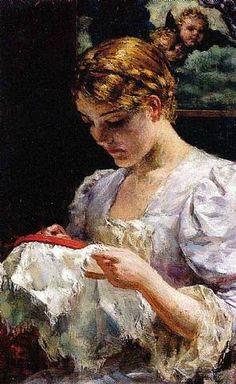 Джеймс Кэролл Беквиз (James Carroll Beckwith, 1852 – 1917)