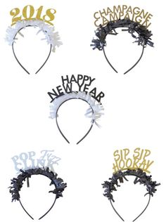 PARTY UP TOP HEADBANDS: NYE PACK