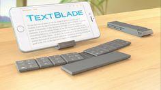 WayTools TextBlade - Magnetic Keyboard for iPhone, iPad, Android