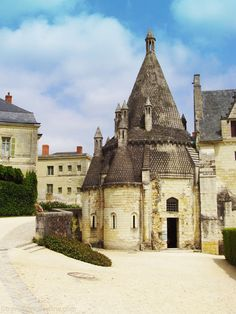 Fontevraud Abbey - Romanesque kitchens known as Tour Evraud #church #France