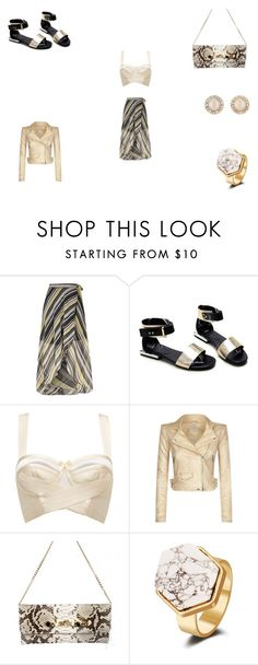 """""""Untitled #821"""" by panicsam ❤ liked on Polyvore featuring River Island, Bordelle, IRO and Kate Spade"""