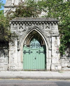 A church in London.  With an enviable door.