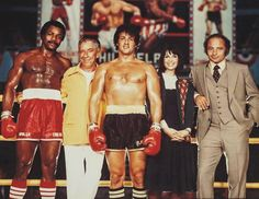 A gallery of Rocky II publicity stills and other photos. Featuring Sylvester Stallone, Carl Weathers, Talia Shire, Burgess Meredith and others. Rocky Sylvester Stallone, Stallone Rocky, Rocky Series, Rocky Film, Rocky Balboa, Rocky Legends, Burt Young, Silvester Stallone, Stars