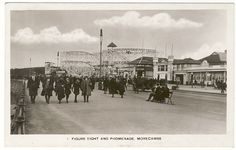 Morecambe Morecambe, Lancaster, Old Pictures, Seaside, Countryside, To Go, Street View, Memories, Live