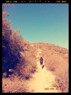 Good day S. Cali!!  Hiking , running!!