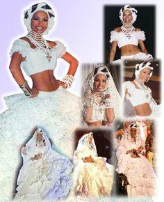 Mantuanas y Esclavas  - Carolina Indriago in Miss Universe 1999