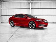 Honda Acura TLX, esporte sedan de luxo para a temporada 2015.ChassisBlog.com | ChassisBlog.com