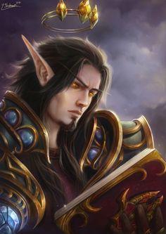 Elves Fantasy, Fantasy Art Men, Fantasy Races, Final Fantasy, World Of Warcraft Characters, Fantasy Characters, Character Portraits, Character Art, World Of Warcraft Wallpaper
